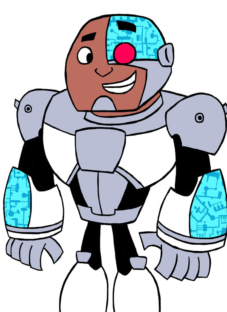 teen_titans_go__cyborg_with_color_by_jul