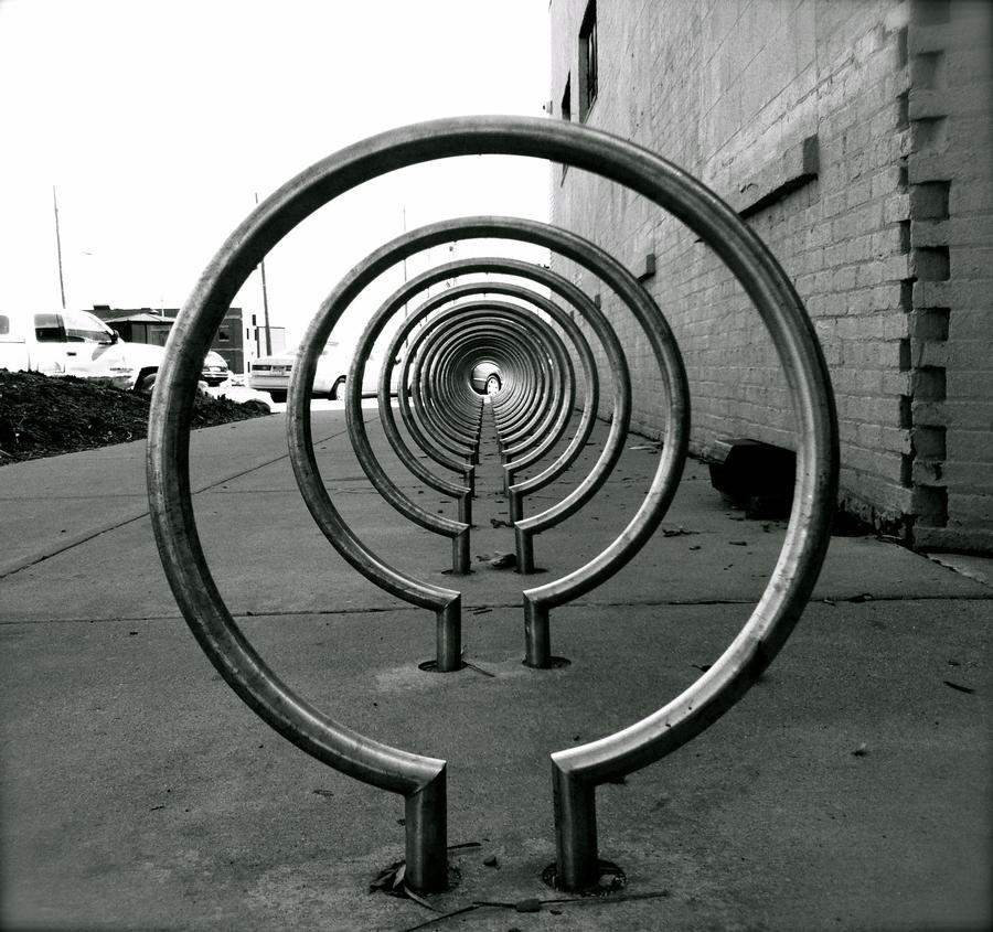 Bike Rack by Flamesofmercy