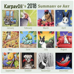 Karpas Summary of Art 2018 by karpfinchen