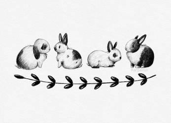 Kaninchenbande by karpfinchen
