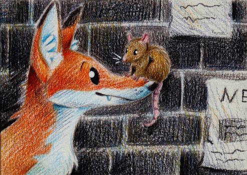 Fox and Rat
