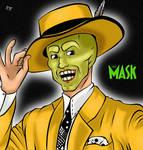 The Mask Jim Carrey Fan Art by theofficialRobertMan