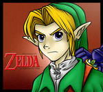 Legend Of Zelda Ocarina Of Time - Link #6fanarts by theofficialRobertMan
