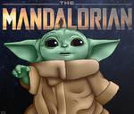 Star Wars The Mandalorian Baby Yoda Fan Art Grogu