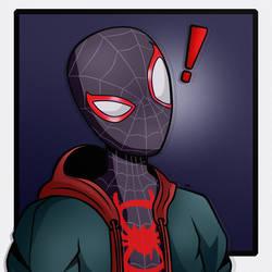 Spider-Man Spider-Verse Miles Morales WTF Danger?!