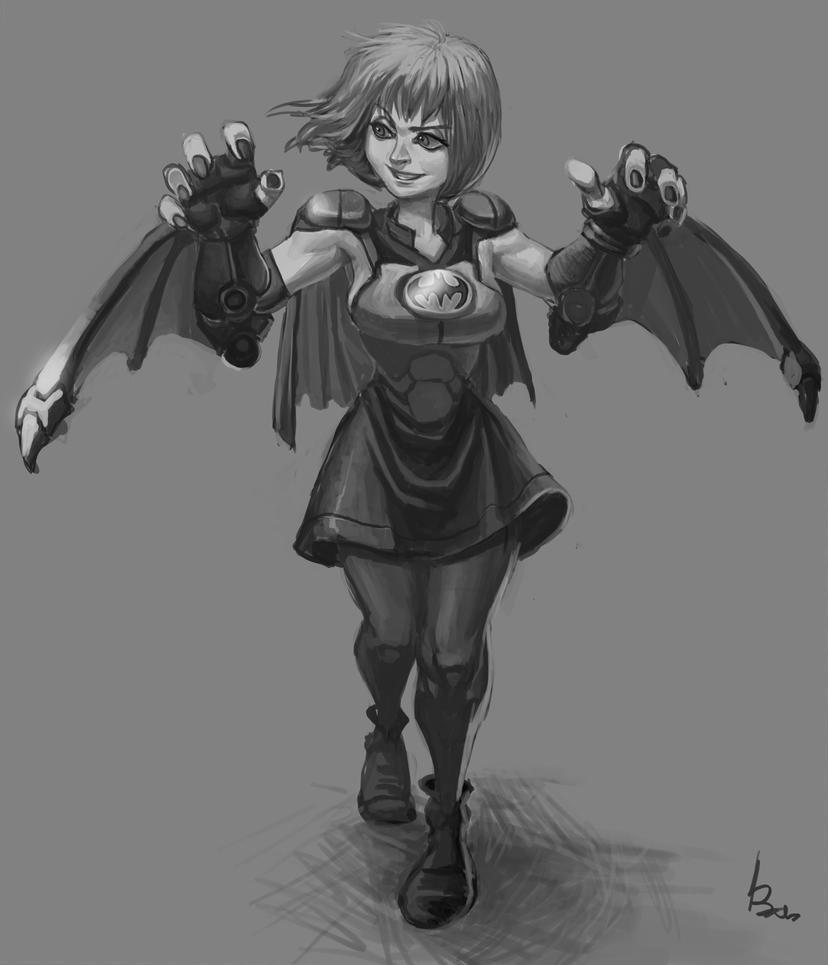 batgirl by salahh