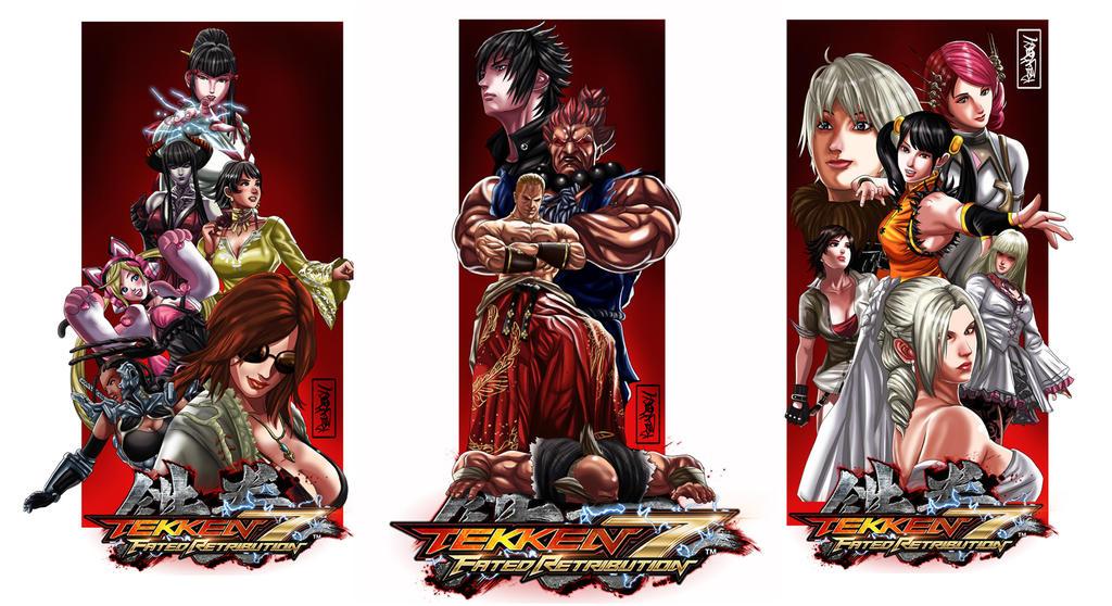 Tekken 7 sample Illustration by Raydash30
