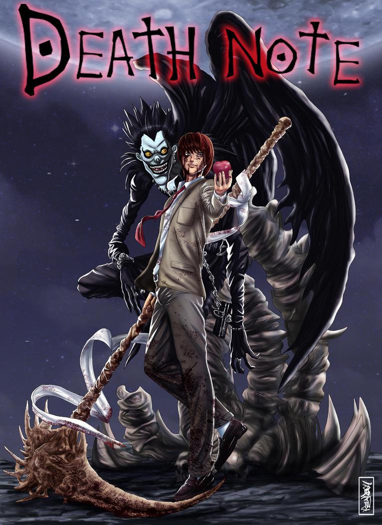 Death Note Kira and Ryuk by Raydash30