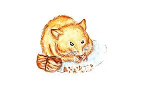 cute Hamster x3 by Namyi