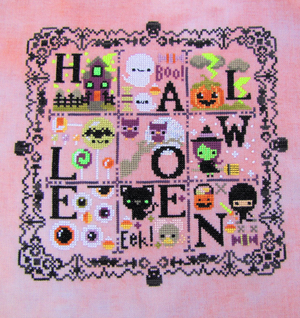 Halloween Spooky Sampler by Katjakay