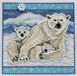 Mill Hill Polar Bears by Katjakay
