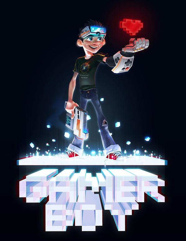 Gamer Boy by TYPK