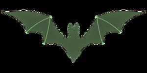 Green Bat 1 by JosephBlakeParker
