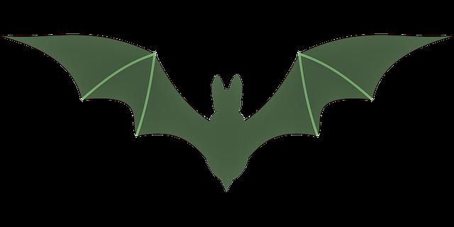 Green Bat 1 by DesdemonaDeBlake