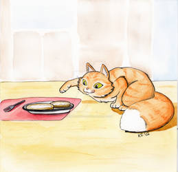 Kiki vs buttered bread