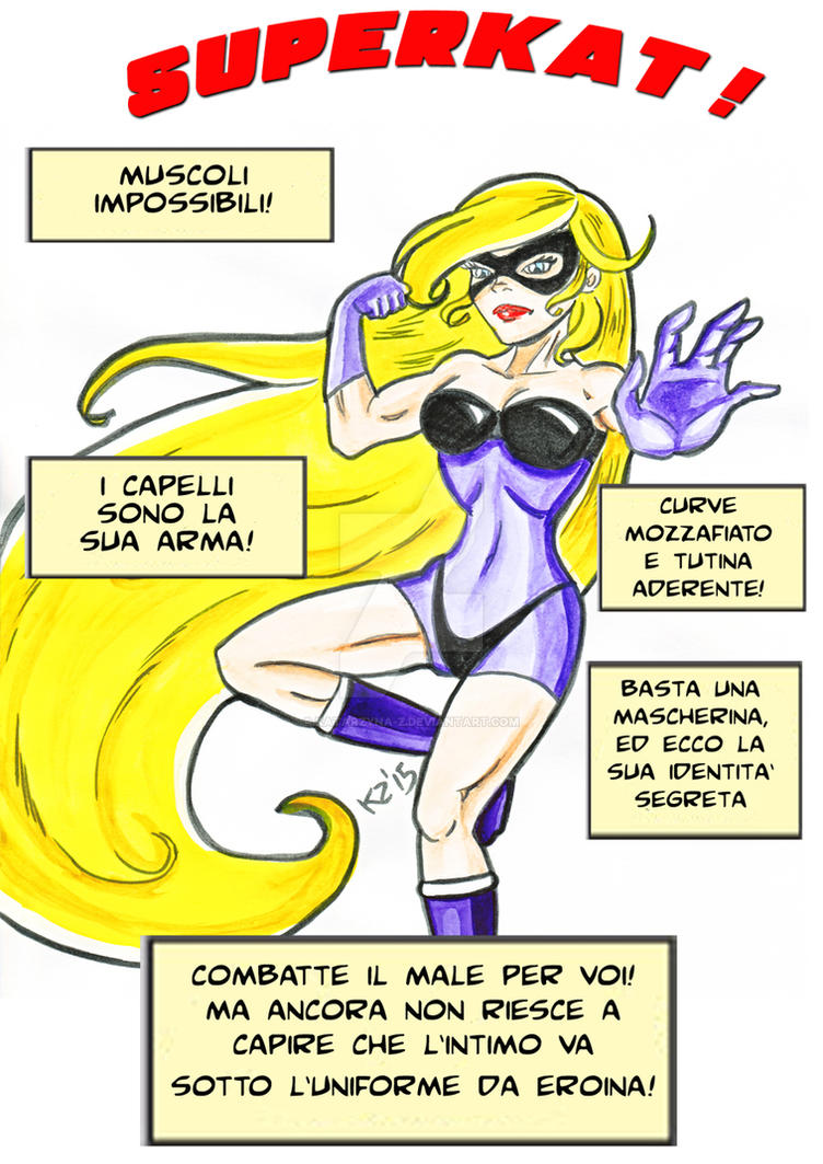 SuperKat! Pow! by katarzyna-z