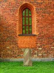 Tombstone Window II by Photopathica