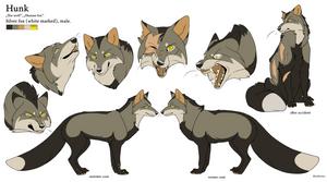 Character Sheet - Hunk by BlueHunter