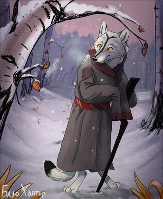 Commission - Russian Winter. by BlueHunter