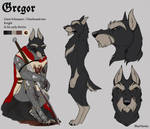 Character Reference - Gregor by BlueHunter