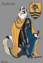 Character Sheet - King Nicholas. by BlueHunter
