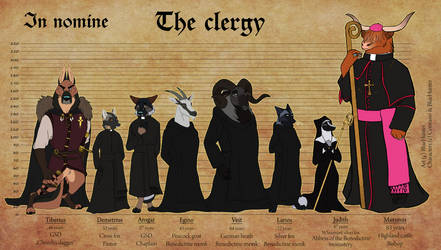The clergy. by BlueHunter