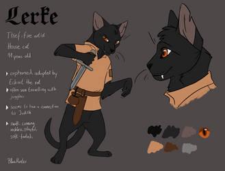 Reference - Lerke. by BlueHunter