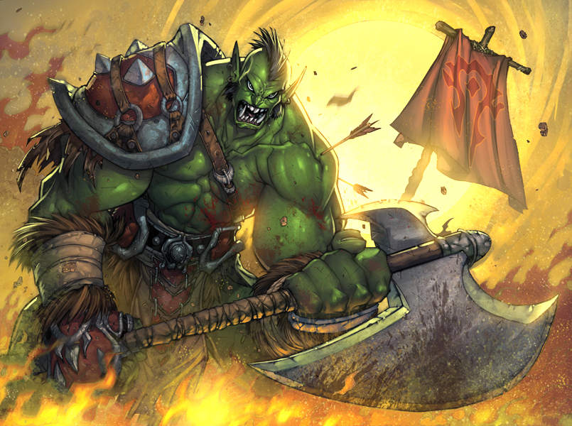 Warcraft Orc by Jonboy007007
