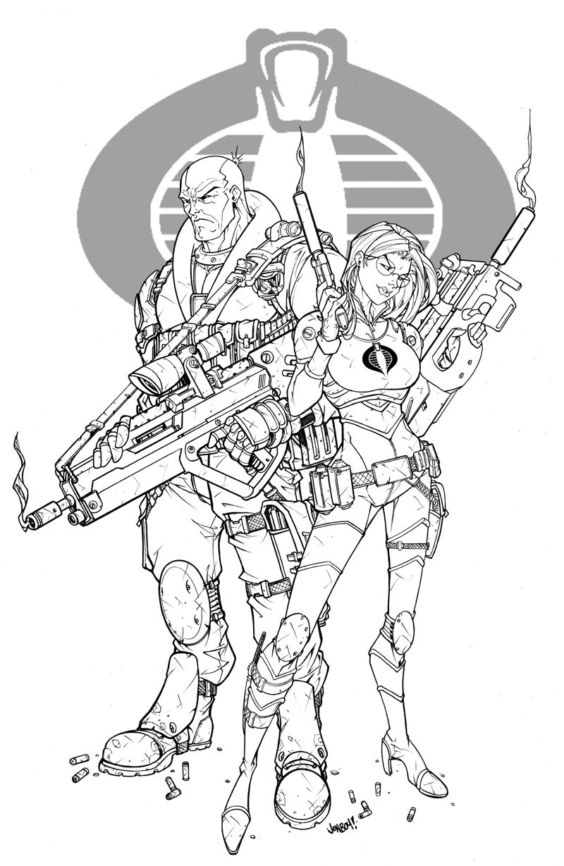 Destro love baroness final by jonboy007007 on deviantart for Gi joe coloring pages