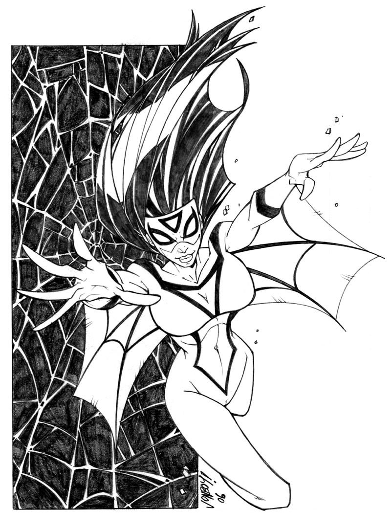 spider woman by jonboy007007 on deviantart