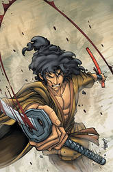 Ninja Scroll Issue 7 Cover by Jonboy007007