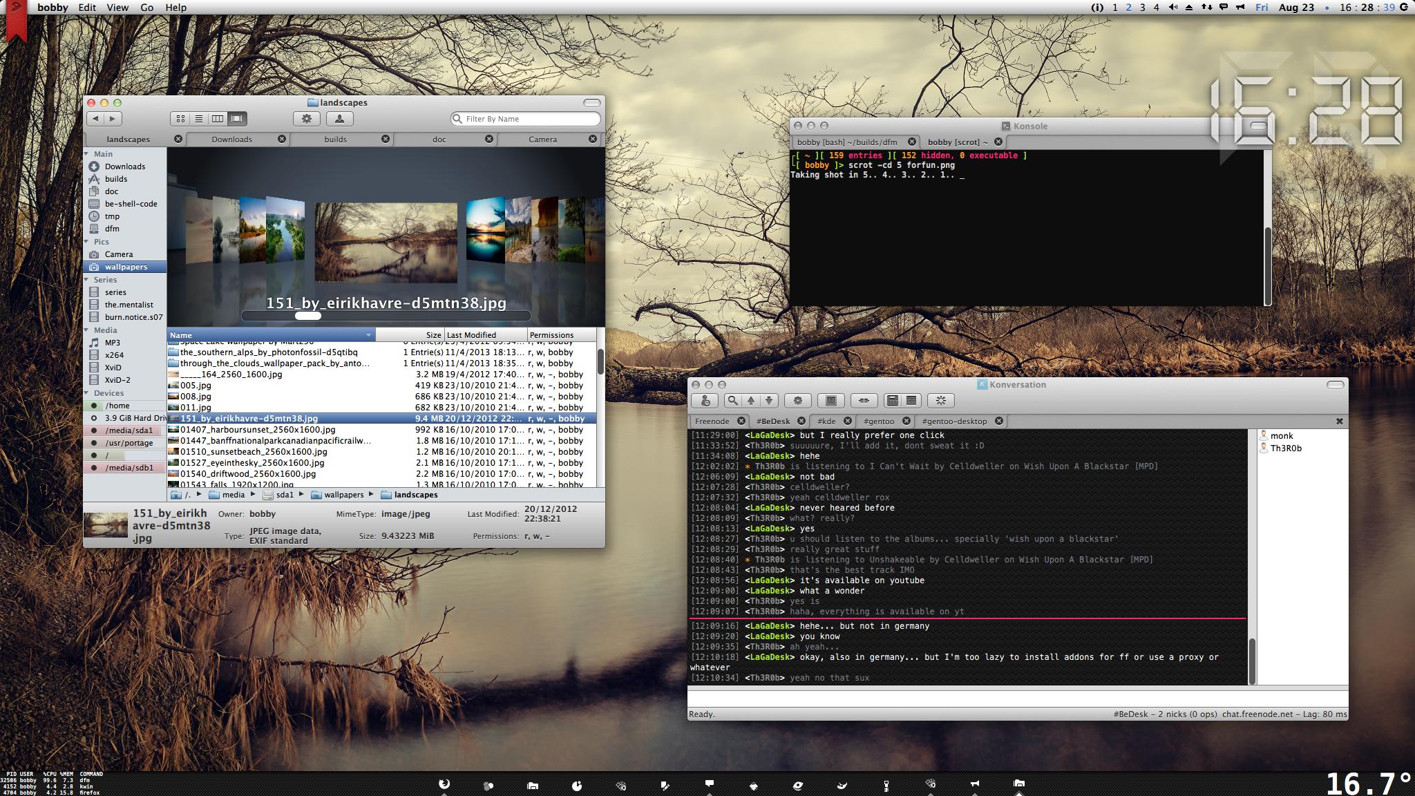 desktop screenshot by Th3R0b