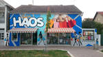 Graffiti / Mural on  boutique Haos. by mechanism0022