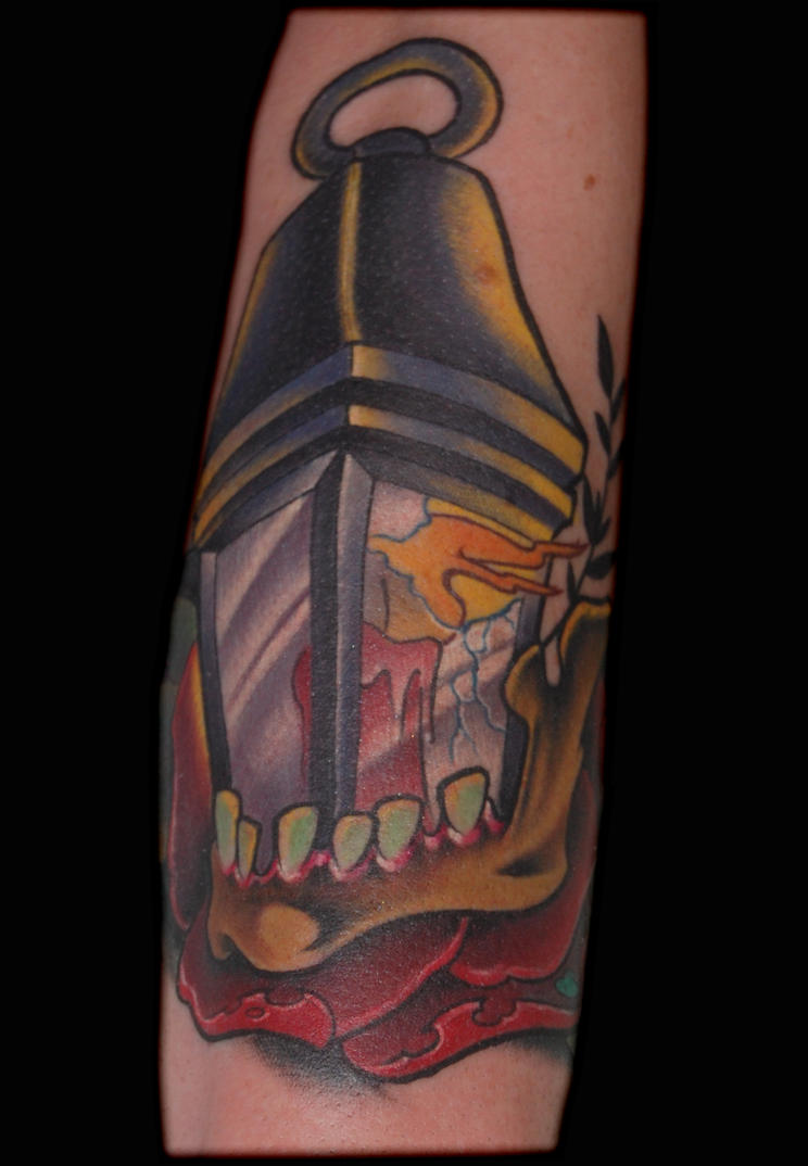 lantern tattoo by exilink on DeviantArt
