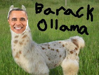 Barack Ollama by Roadkill-The-Raccoon