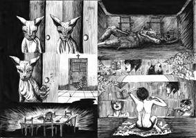 Some of my fourteenth comic horror. by andre-ma