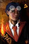 Taranne of Gryffindor by andre-ma