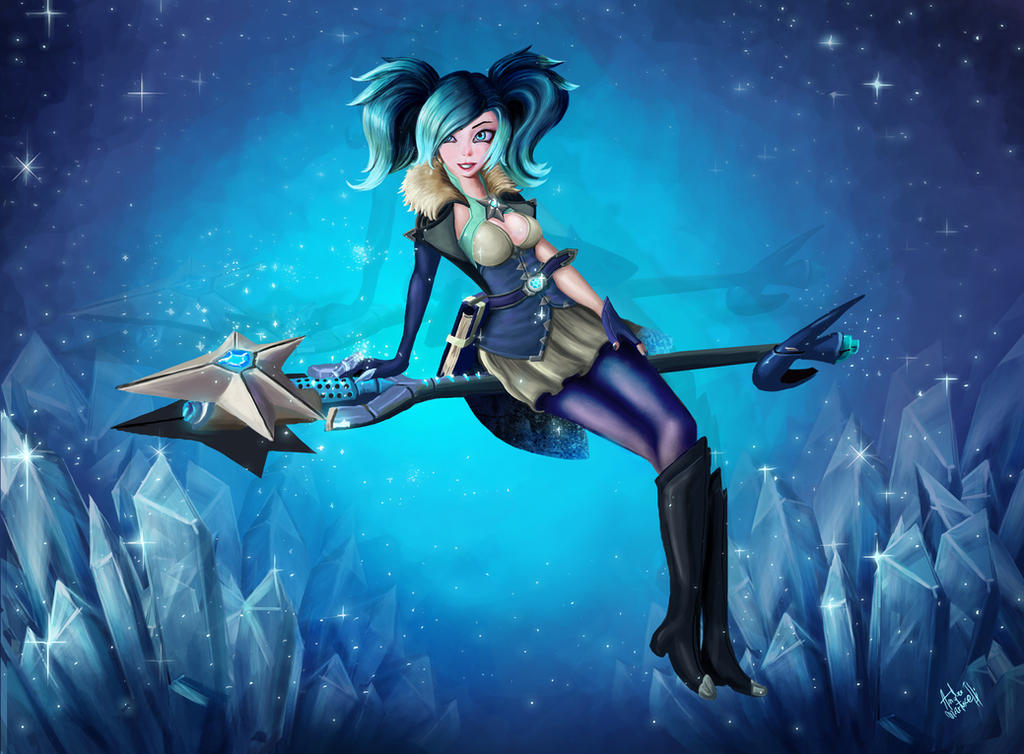 Evie of paladins fanart by andre ma on deviantart - Evie wallpaper ...