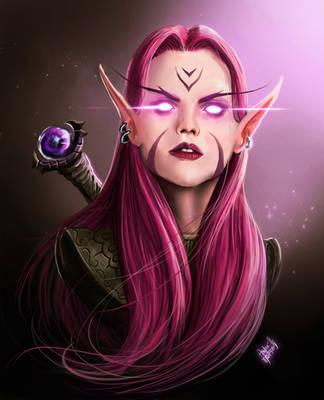 Camilla, the Arcane Master by andre-ma
