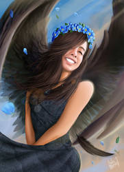 The angel of beauty by andre-ma