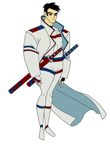 Tri-Spirit Warrior Sample by crashmurdoch