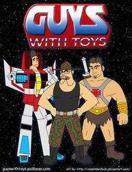 Guys with Toys 2 by crashmurdoch