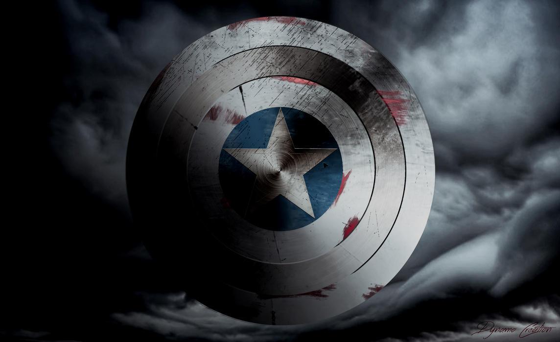 bouclier captain america by dynaamo