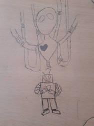 Bot heart  by Koreanbunny22