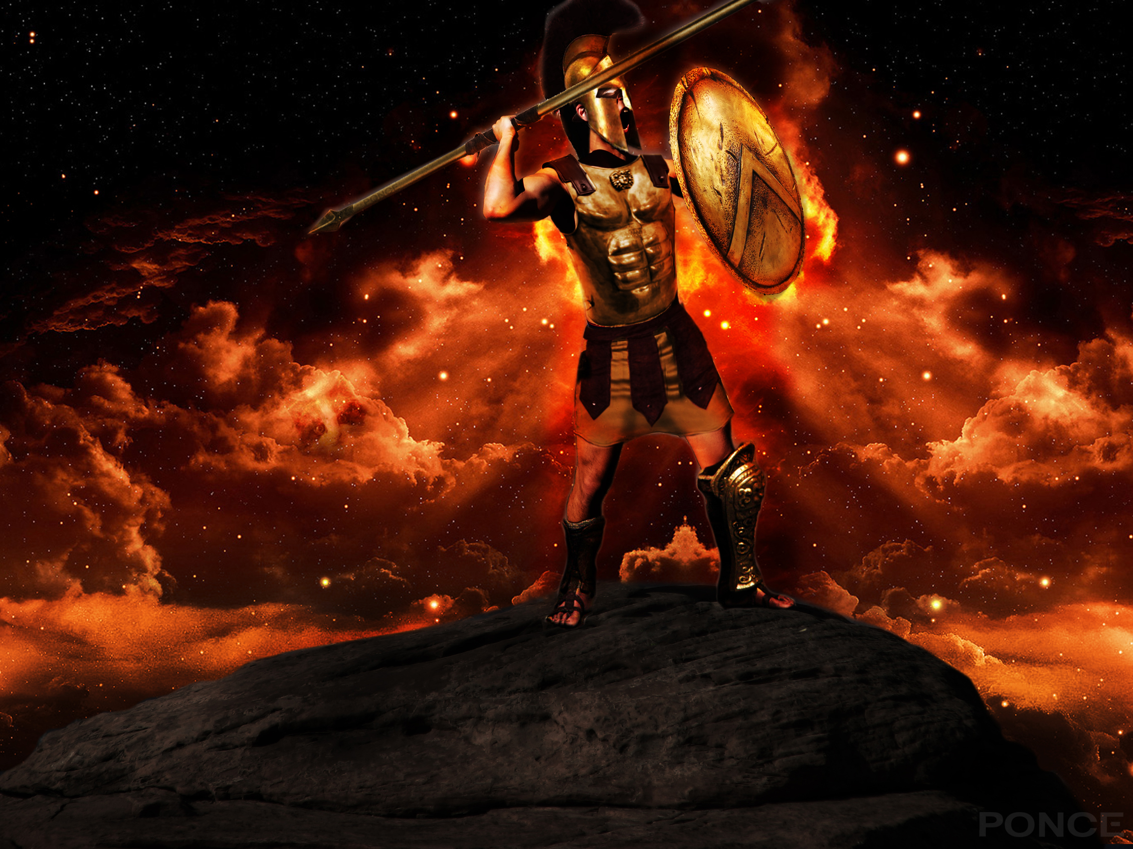 Ares the god of war by nahdawg on deviantart - Ares god of war wallpaper ...