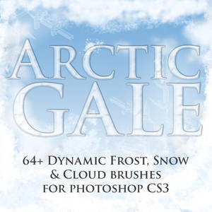 Arctic Gale Dynamic Brushes