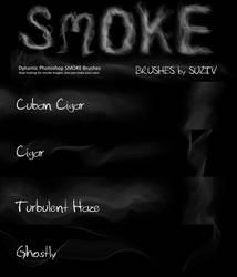 Photoshop Smoke Brush by suztv