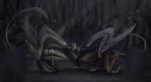 The Fight by Cvanilda