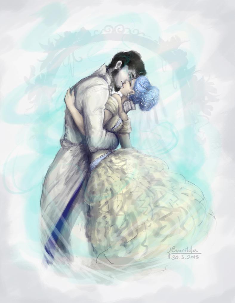 The final kiss by Cvanilda
