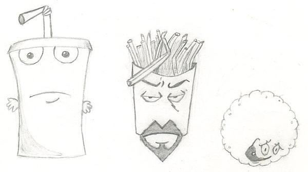 Aqua Teens sketch June 4, 2005